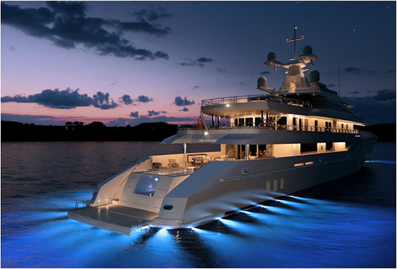 Red Square Superyacht | By Dunya Yachts | Image