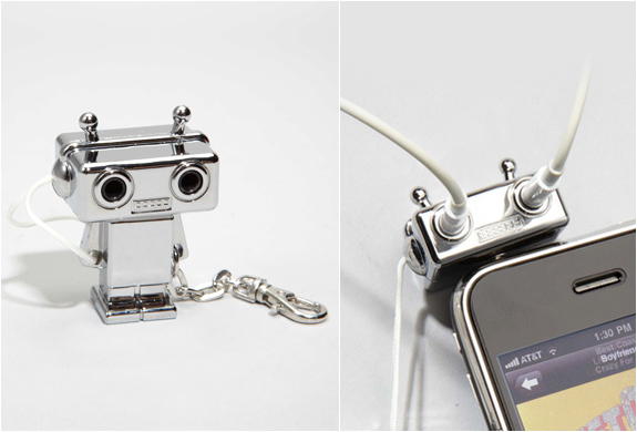 Robot Headphone Splitter | Image