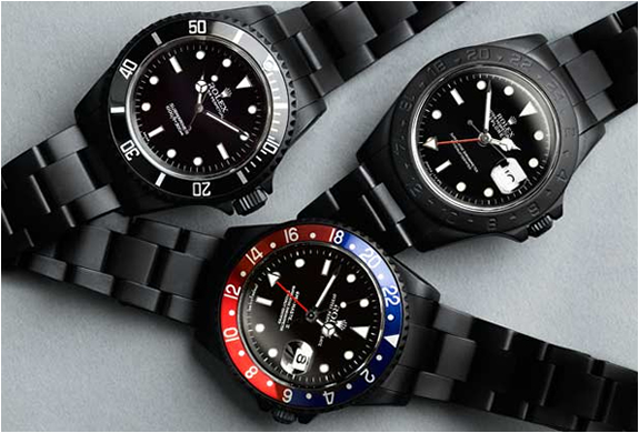 ROLEX BLACK LIMITED EDITION WATCHES | Image
