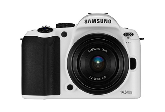 SAMSUNG NX10 WHITE LIMITED EDITION | Image