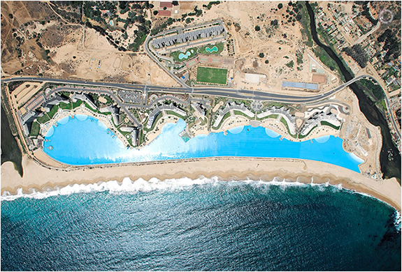 WORLD´S LARGEST SWIMMING POOL | SAN ALFONSO DEL MAR RESORT CHILE | Image