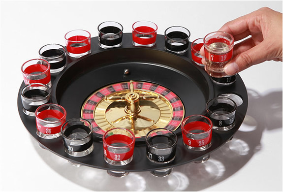Russian roulette with liquor!