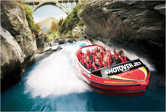 Insane Shotover Jet | New Zealand | Image