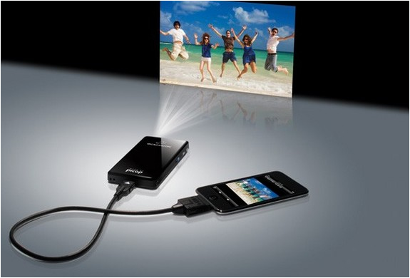 Portable projector by showwx for Pocket video projector