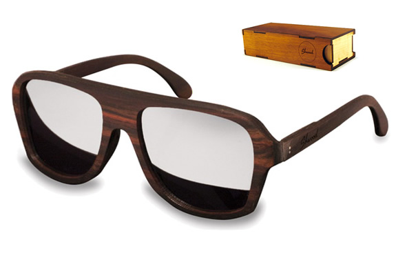 ASHLAND AVIATOR SUNGLASSES | BY SHWOOD | Image