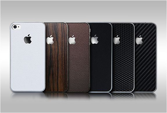 SKIN GUARD SET SERIES FOR IPHONE 4 | BY SGP | Image