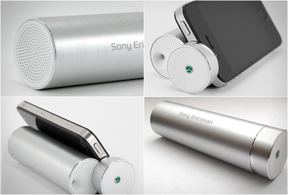 Sony Ericsson Portable Media Speaker Stand | Image