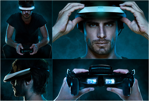 SONY HMZ-T1 | WEARABLE 3D HOME THEATER | Image