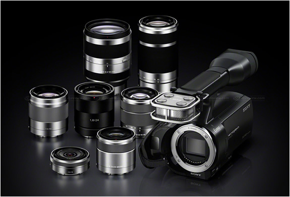 SONY NEX-VG20 | INTERCHANGEABLE LENS CAMCORDER | Image