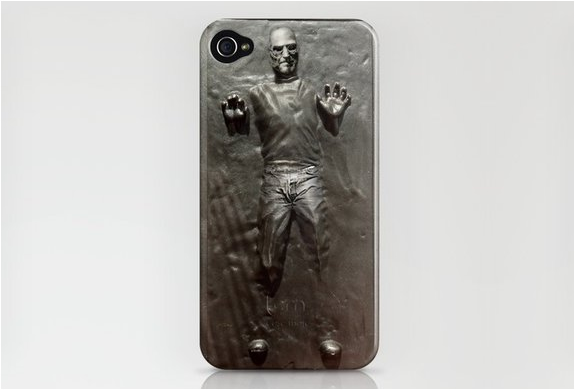 Steve Jobs In Carbonite Iphone Case | By Society 6 | Image