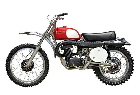 STEVE MACQUEEN 1971 HUSKY 400 CROSS MOTORCYCLE | UP FOR AUCTION | Image