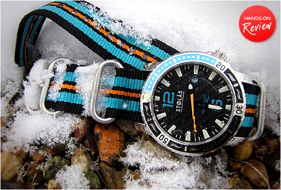 HARBORMASTER SPINNAKER AUTOMATIC DIVING WATCH | BY STOLAS | Image