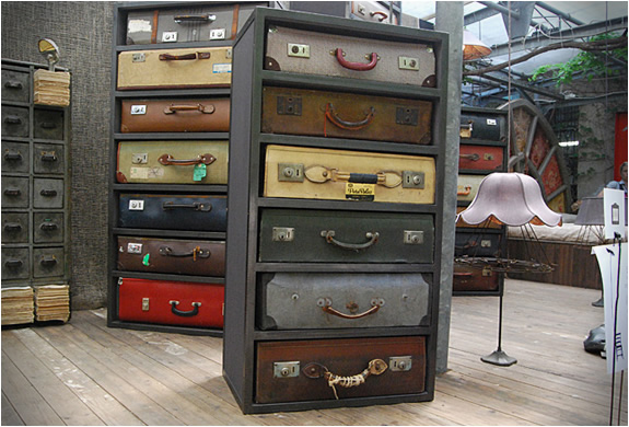 Vintage Suitcase Drawers | By James Plumb | Image