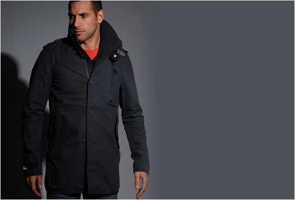 JERMYN ST. TRENCH COAT | BY SUPERDRY | Image