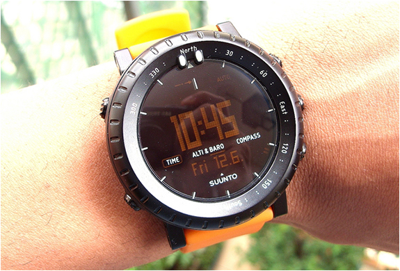 Suunto Core Black Orange 4