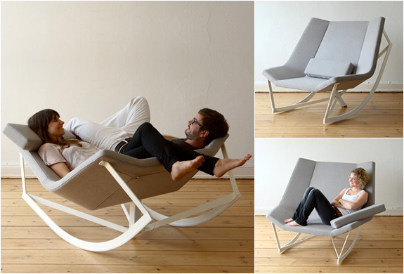 SWAY ROCKING CHAIR  BY MARKUS KRAUSS  Image