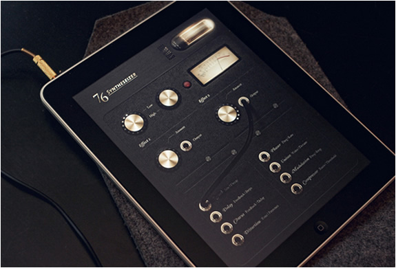SYNTHESIZER 76 IPAD APP | Image