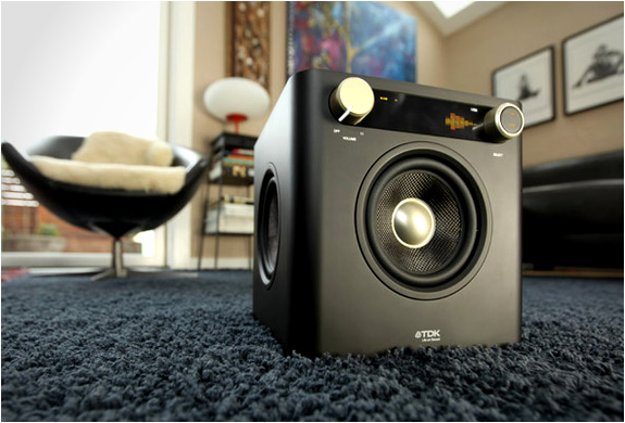 Sound cube audio system by tdk for Stereo casa