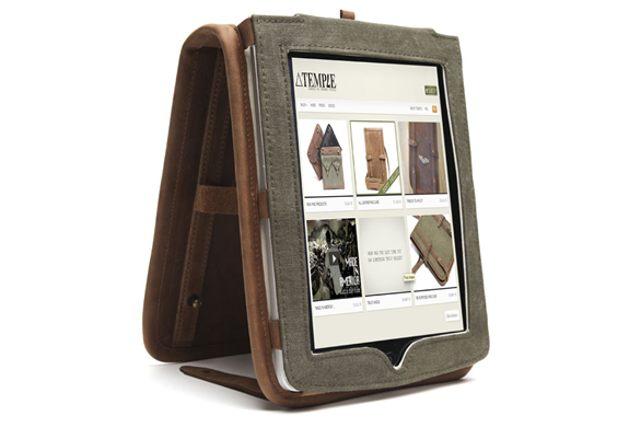 Leather Ipad Case | By Temple Bags | Image