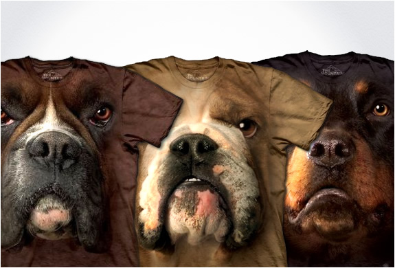 HYPER REALISTIC DOG T-SHIRTS | BY THE MOUNTAIN | Image