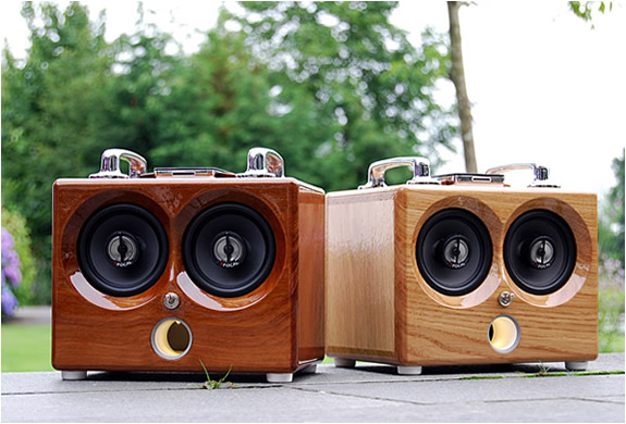 THODIO IBOX | RETRO PORTABLE AMPLIFIER | Image