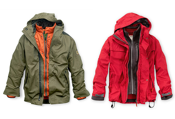 BENTON 3-IN-1 WATERPROOF JACKET | BY TIMBERLAND | Image