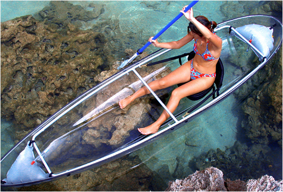 TRANSPARENT KAYAK | Image