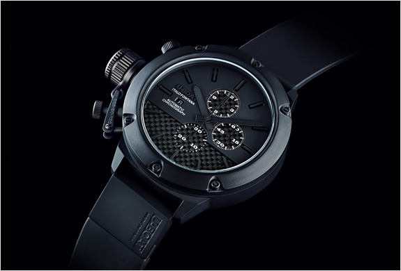 U-BOAT CLASSICO CARBON FIBER CERAMIC WATCH | LIMITED EDITION | Image