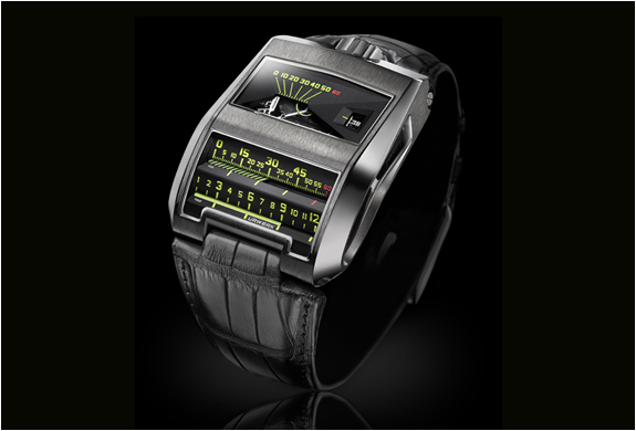 URWERK CC1 BLACK COBRA WATCH | Image