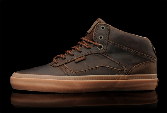 VANS OTW LEATHER BEDFORD | BROWN & GUM | Image