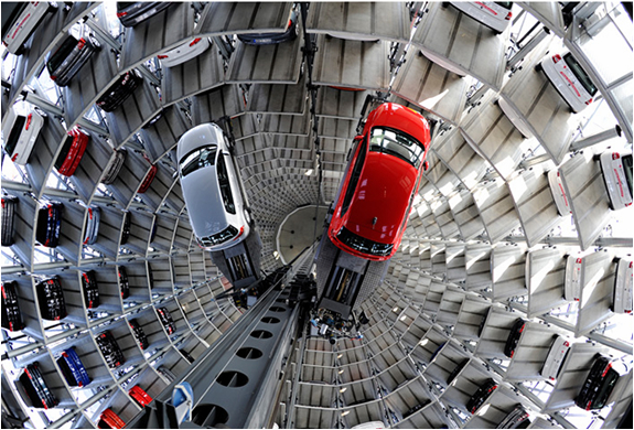 Volkswagen Amazing Car Towers | Image