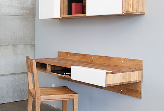 WALL MOUNTED DESK | FOR SMALL SPACES | Image
