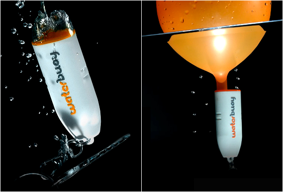 WATERBUOY | FLOATATION DEVICE WITH FLASHING LIGHT | Image