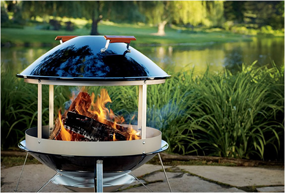 WEBER OUTDOOR FIREPLACE | Image