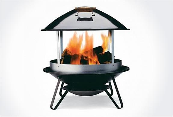 Weber Outdoor Fireplace
