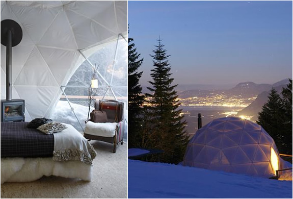 Whitepod Hotel | Switzerland | Image