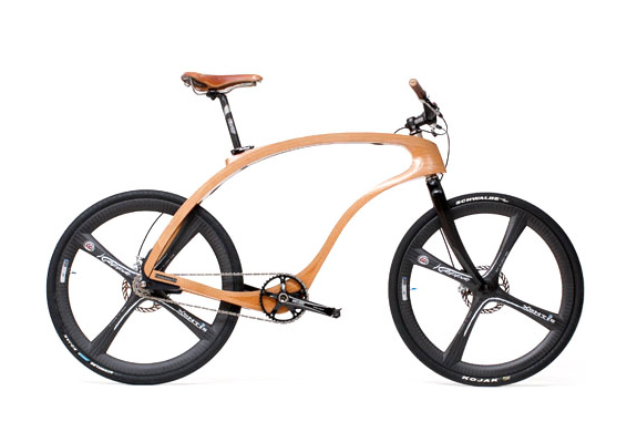 WOODEN BIKE | BY WALDMEISTER | Image