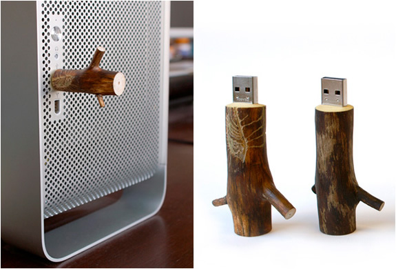 WOODEN USB STICKS | BY OOOMS | Image