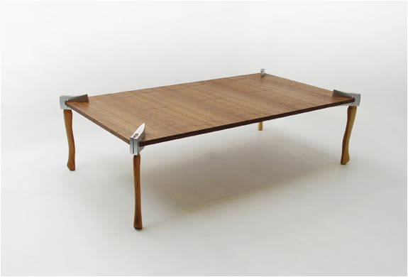 WOODSMAN AXE COFFEE TABLE | DUFFY LONDON | Image