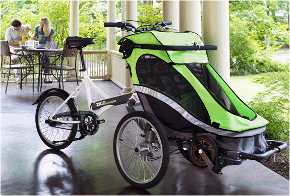 ZIGO LEADER X2 CARRIER BICYCLE | Image