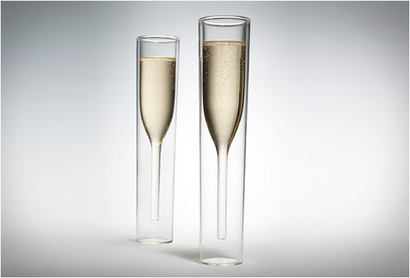 Inside Out Champagne Glasses | Image