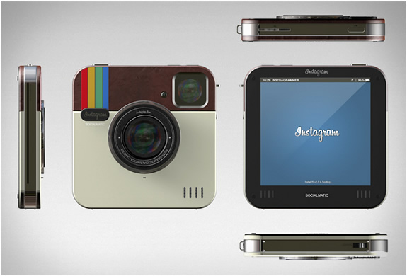 Instagram Socialmatic Camera | Image