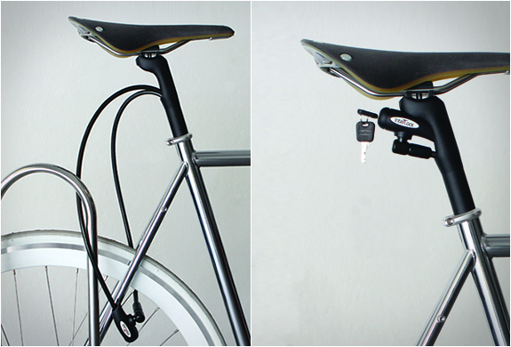 Interlock | Integrated Seatpost Lock | Image