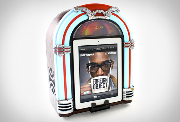 JUKEBOX IPAD DOCK | BY ION | Image