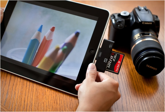 IPAD CF AND SD CARD READERS | Image