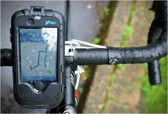 Iphone Cycle Mount & Waterproof Tough Case | Image