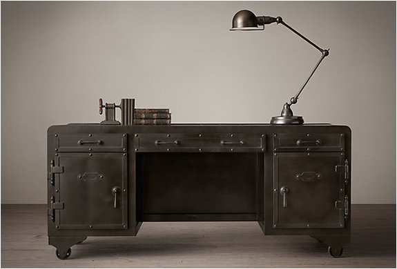 Iron Vault Desk | Image