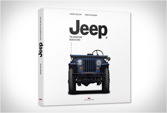 JEEP | THE ADVENTURE NEVER STOPS | Image