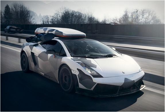 Digital Camo Lamborghini