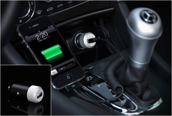 HIGHWAY USB CAR CHARGER | BY JUST MOBILE | Image